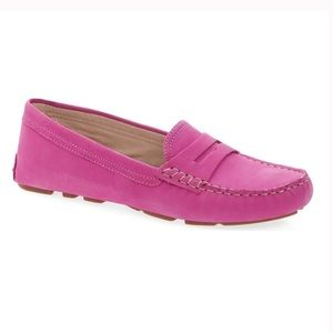Sam Edelman Filly Pink Suede Loafer
